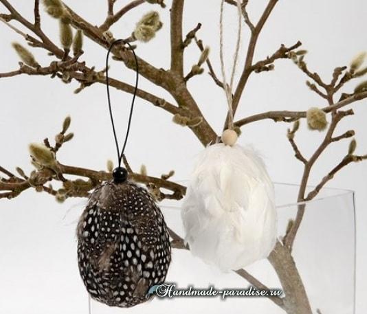 Пасхальные яйца из цемента и полимерной глины (1)