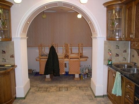 Переделка дверного проема под арку (1)