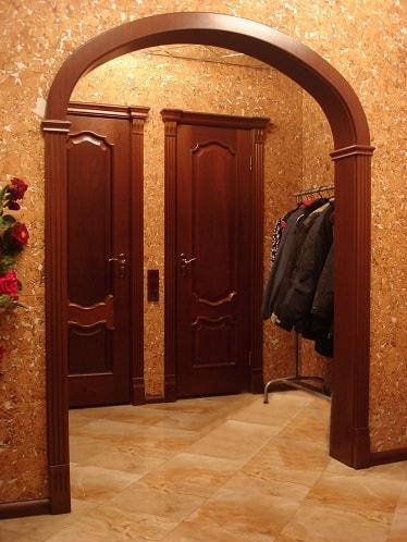 Переделка дверного проема под арку (2)