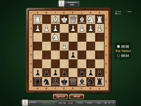 Шахматы на двоих онлайн на LuckForFree.com (2)