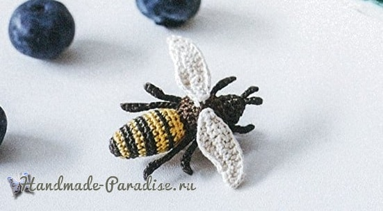 Амигуруми. Пчела и божья коровка (1)
