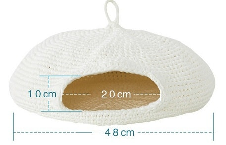 Домик для кошки крючком. Схемы вязания (3)