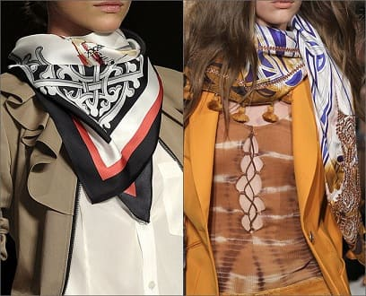 Как носить платок летом 2017 (1)