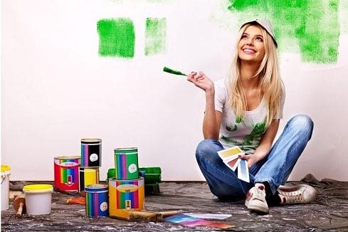 Как самостоятельно покрасить стены (3)