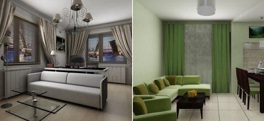 Помощь дизайнера в оформлении квартиры-студии