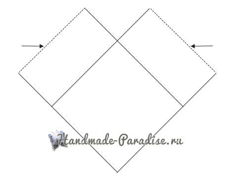 Пончо крючком бабушкиными квадратами (2)