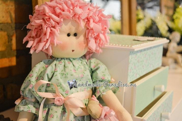 Примитивная кукла Мария. Выкройка (5)