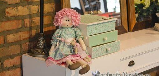 Примитивная кукла Мария. Выкройка (6)