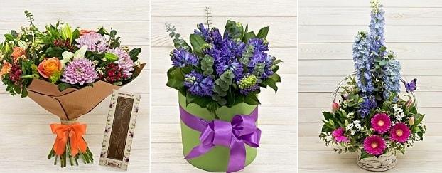 Роскошные букеты цветов в интернет-магазине «Фантазия» (1)