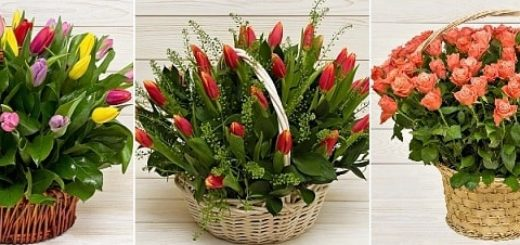 Роскошные букеты цветов в интернет-магазине «Фантазия» (3)