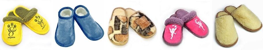 Тапочки из меха - символ тепла и домашнего комфорта (1)