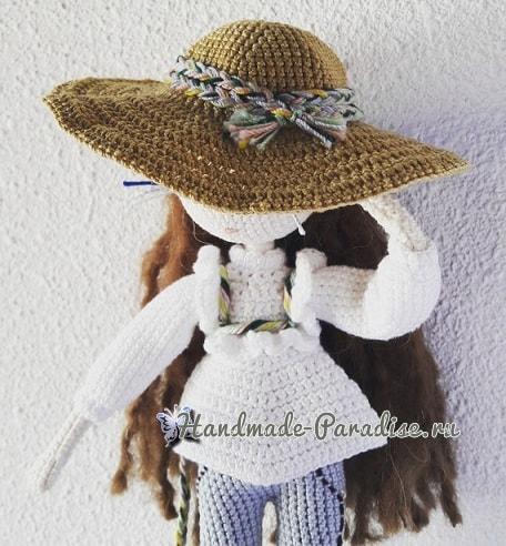 Вязаная крючком кукла Mariette. Описание (1)
