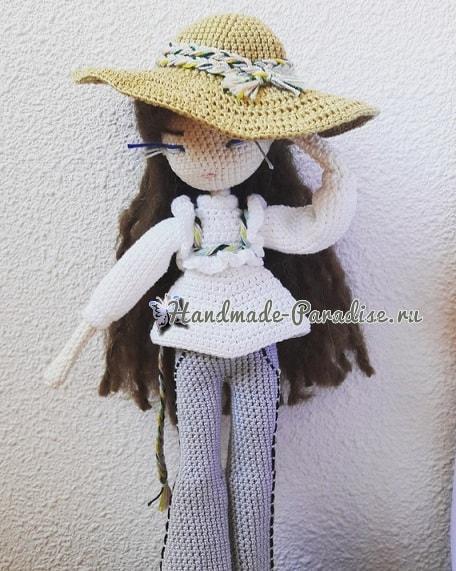 Вязаная крючком кукла Mariette. Описание (2)