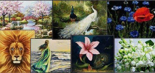 Алмазная мозаика - вся роскошь Востока (1)