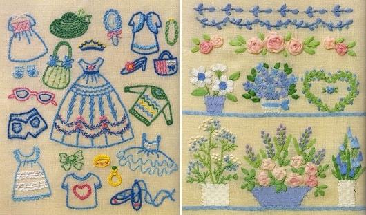 Basic Embroidery Needle Technique - самоучитель по вышивке (3)