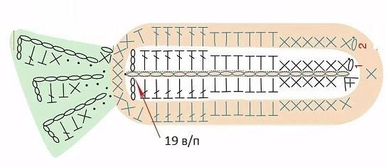 Детский плед крючком с зайкой и морковками (6)