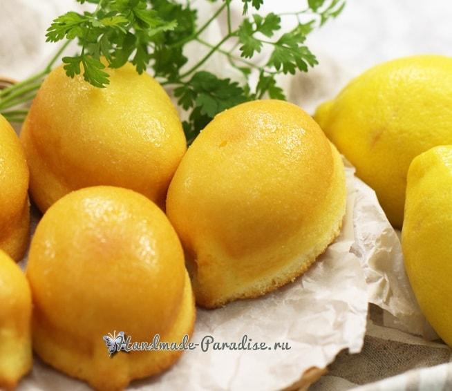 Как испечь лимоны. Сладкая выпечка (2)