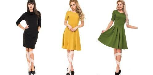 Магия цвета - прелесть однотонных платьев