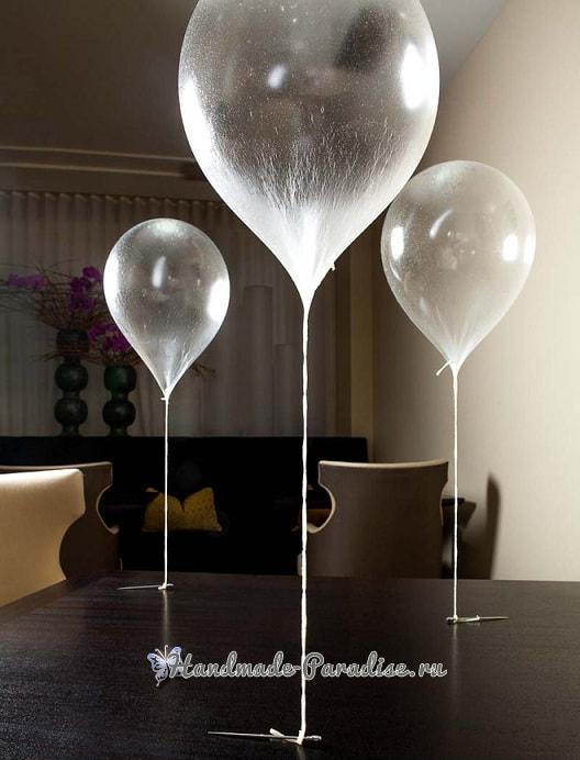 Съедобные сладкие воздушные шары своими руками (1)