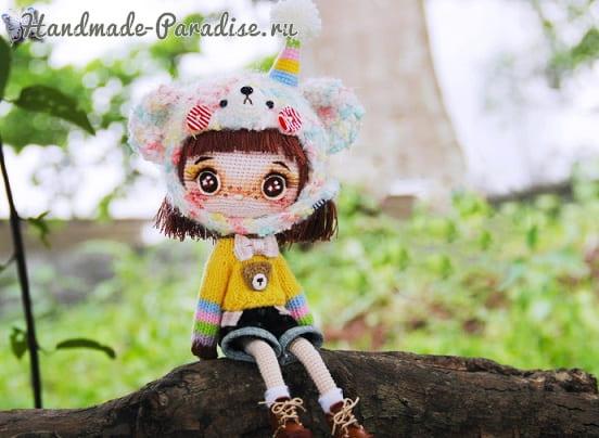 Ботиночки из кожи для куколки амигуруми (1)