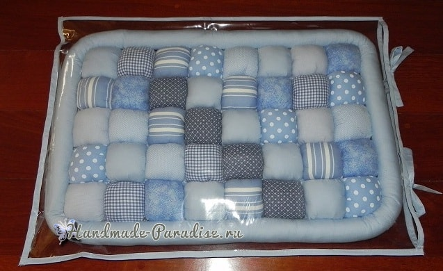 Bubble Quilt. Матрасик БОМБОМ для пеленального столика (4)