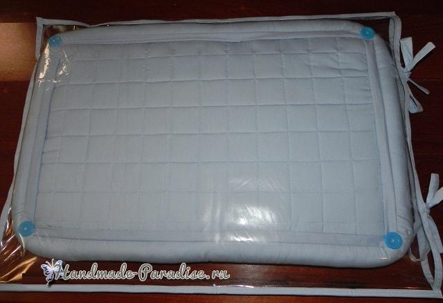 Bubble Quilt. Матрасик БОМБОМ для пеленального столика (5)
