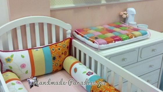 Подушечки для детской кроватки своими руками фото 514