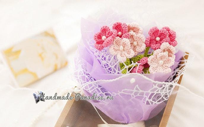 Букетик полевых цветов крючком (3)