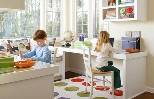 Как обустроить комнату для двух деток разного пола (2)