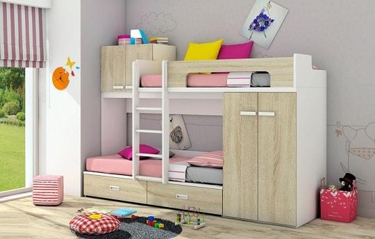 Как обустроить комнату для двух деток разного пола (4)
