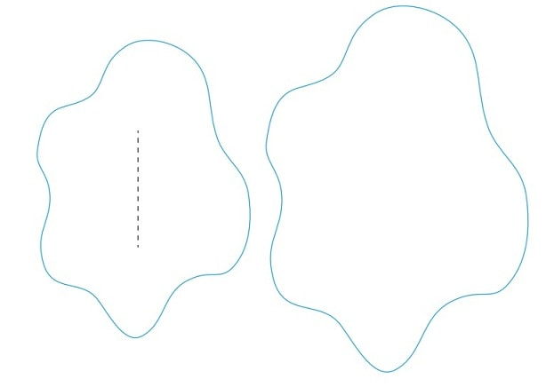 Лебеди из бумаги для свадебного торта (5)