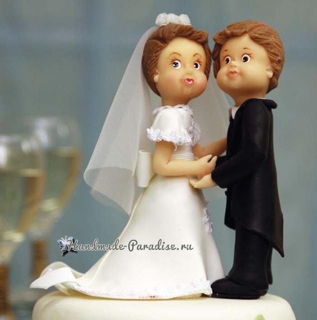 Лепка для украшения свадебного торта (2)