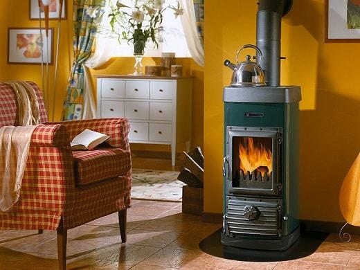 Современная печь-камин в интерьере (3)