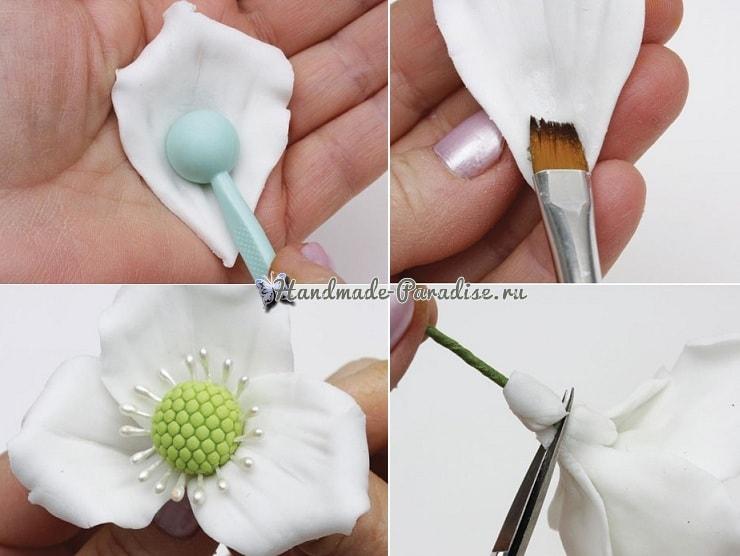 Цветы шиповника для украшения торта (5)