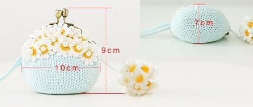 Вязание крючком сумочки с фермуаром (5)