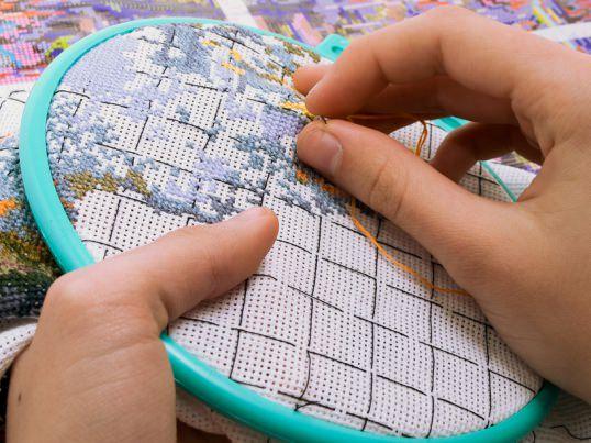 Вышивка крестом по схемам для новичков