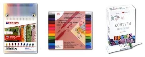Краски для ткани - яркий стиль или как обновить гардероб (2)