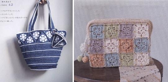 Вязание сумок. Журнал «Crochet Mania's Bags» (2)