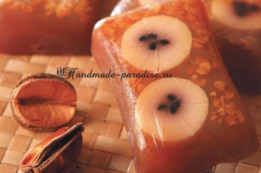 Глицериновое банановое мыло handmade (6)