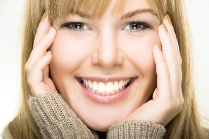 Сверкнула белым жемчугом красивая улыбка (1)