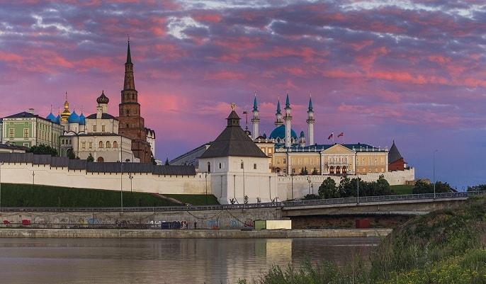 Казанский кремль - главная гордость Татарстана
