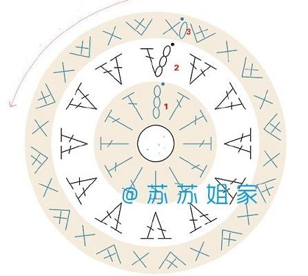Маска для сна «Совушка» крючком (6)