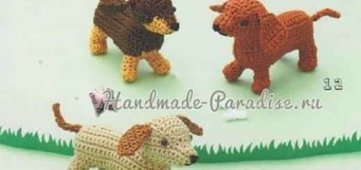 Схемы вязания собачки амигуруми (2)