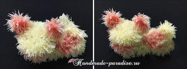 Собачка из грейпфрута для новогоднего стола (20)