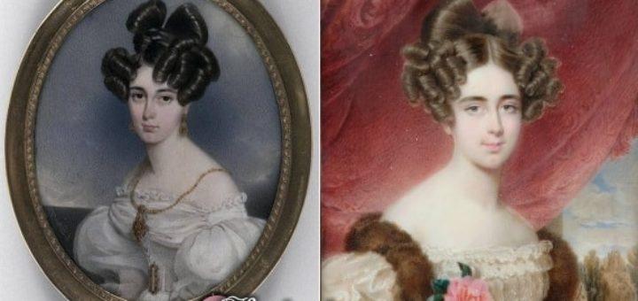 Женские портреты для винтажного декупажа