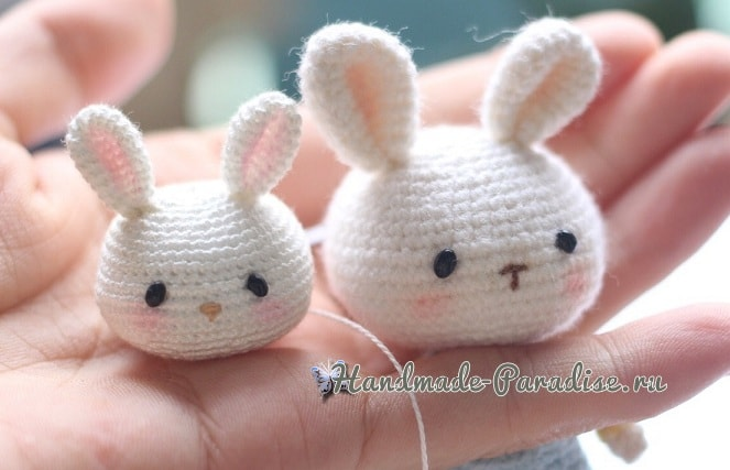 Кролики амигуруми в штанишках (2)