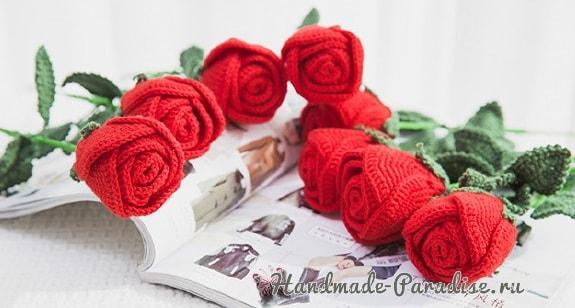 Самые красивые розы крючком. Схемы (2)