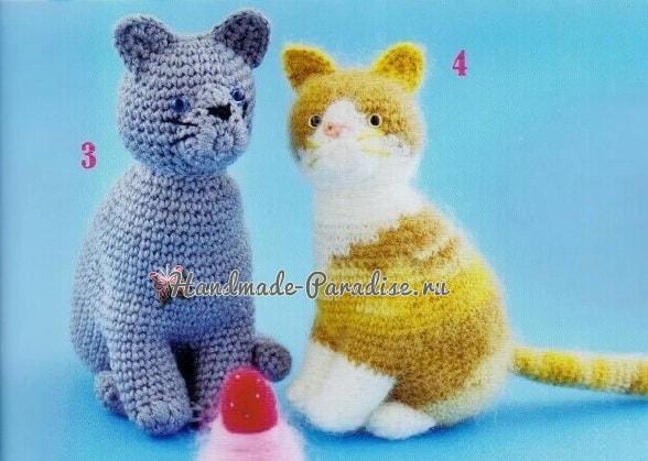 Схемы вязания крючком котенка (1)