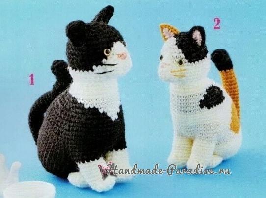 Схемы вязания крючком котенка (2)