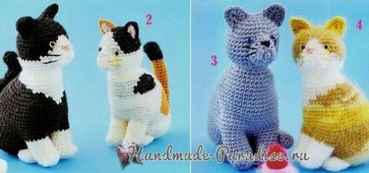 Схемы вязания крючком котенка (3)